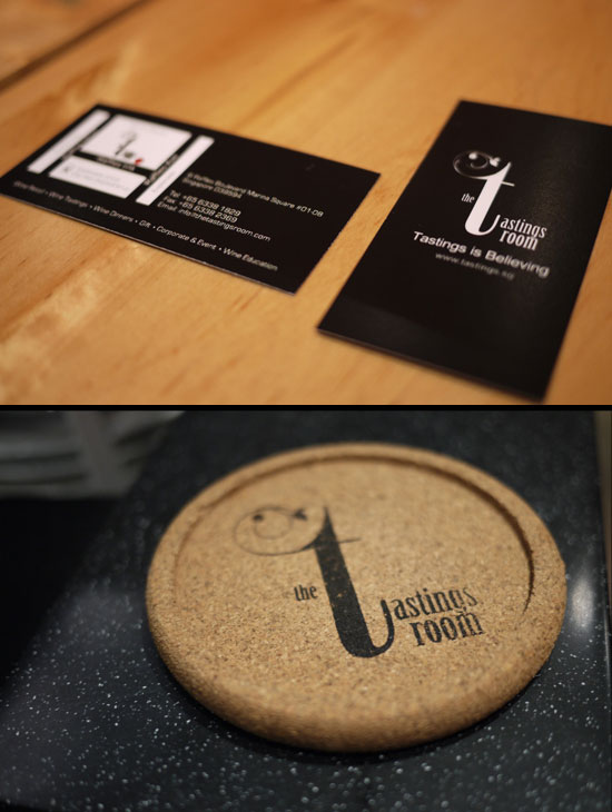 The Tastings Room - Branding - Logo and Namecard